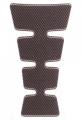 Наклейка на бак Print Carbon Med 175x126mm