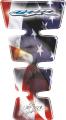 Наклейка на бак Print USA CBR Blue-Red-White