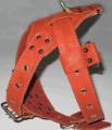 Шлея из кожи (стафф) №35 Ширина кожаных полос: 35 мм