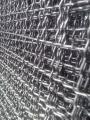 Сетка сложно-рифленая (канилированная) 16*16 мм 2*1 м, диаметр 2,5 мм без покрытия