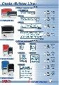 Оснастка пластиковая для печатей и штампов стандартных размеров, формы для штампов и печатей