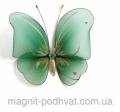 Декоративная Бабочка большая  зеленая для штор и тюлей