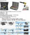 Електромеханическая распорка двостороннего действия для рихтовки автомобилей усилие 5т. WLT 100L Dataliner