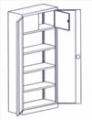 Мебель для канцелярий металлическая, канцелярские шкафы, комплекты, шкафчики, шкафы для документов огнеупорные.