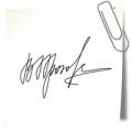 Изготовление факсимиле подписи
