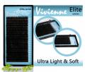 Black eyelashes of Ultra Light&Sof