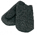 Mittens cloth for metallurgists
