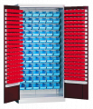 Метизные шкафы для мастерской Swm