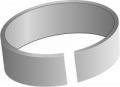 Кольцо опорно-направляющее для гидроцилиндров ТУ 3141-007-00173841-95