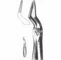 Щипцы со средними губками для удаления корней зубов верхней челюсти № 51 Щ-181