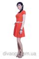 Красное платье Модель 074 (п)