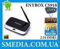 Медиаплеер на андроиде Enybox CS918 RK3188, 2Гб DDR3, 8Гб MK888B android tv box