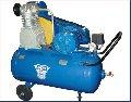 Компрессор К-25М  ресивер 120 л; давление 6 Атм; производительность 550 л/мин; электродвигатель 380В; 2880 об/мин; передвижной с автоматикой