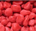 Декоративные камни окрашенные красные