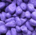 Декоративные камни окрашенные фиолетовые