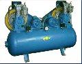 Компрессор К-20  ресивер 500 л; давление 16 Атм; производительность 1000 л/мин; электродвигатель 2 шт. 380В; 2880 об/мин; стационарній с автоматикой