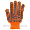 """Gloves """"Crown"""" orange"""