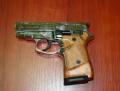 Стартовый пистолет Stalker-914 хром+гравировка Zoraki Модель: 914