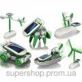 Робот - трансформер на солнечной батарее Solar Kit 6в1 194-1912120