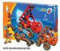 Пластиковый конструктор (6 моделей роботов + машины) kid2555-22