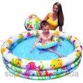 Детский надувной бассейн Intex 59469 + круг + мяч 003774