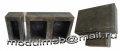 Compression molds for production of a polimerpeschany brick the Old city (180 x 120 x 55 and 60 x 120 x 55)