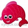 Розовая рыбка - запятая Мини-коврики