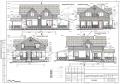 Готовый проект двухэтажного дома (коттеджа) 200 кв.м