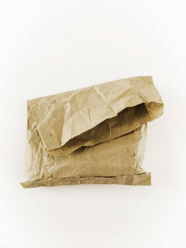 Так выглядели первые бумажные пакеты сделанные машиной