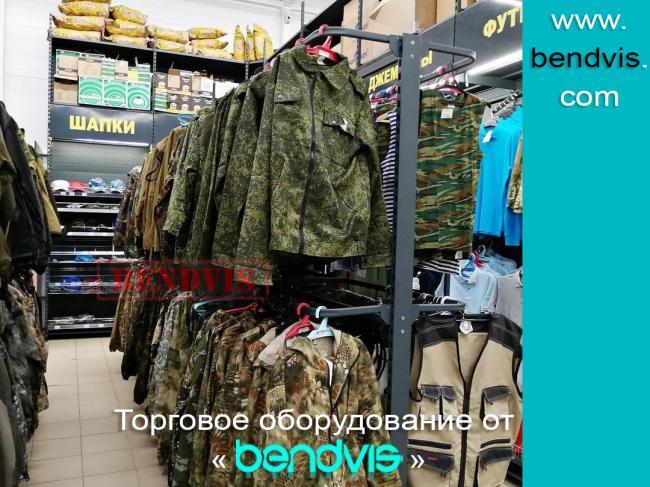 Виды торгового оборудования для магазинов одежды