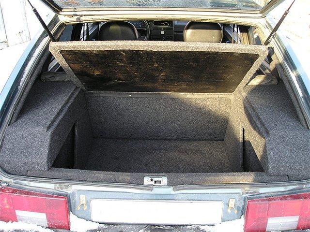 Полка в багажник 2109 своими руками
