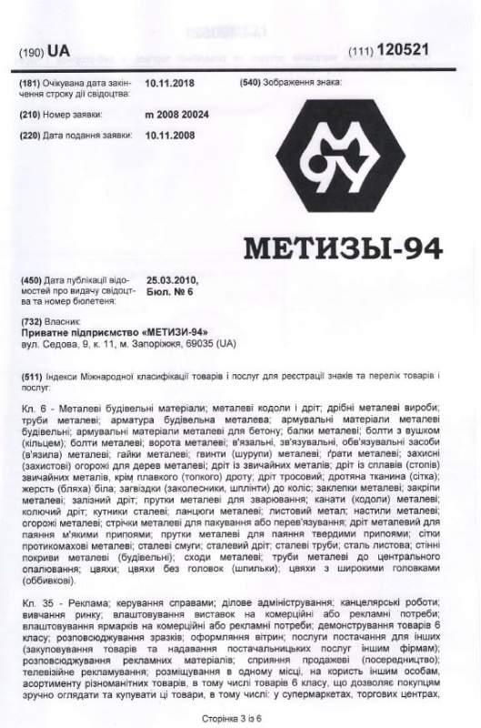 Интернет-магазин «Метизы-94»