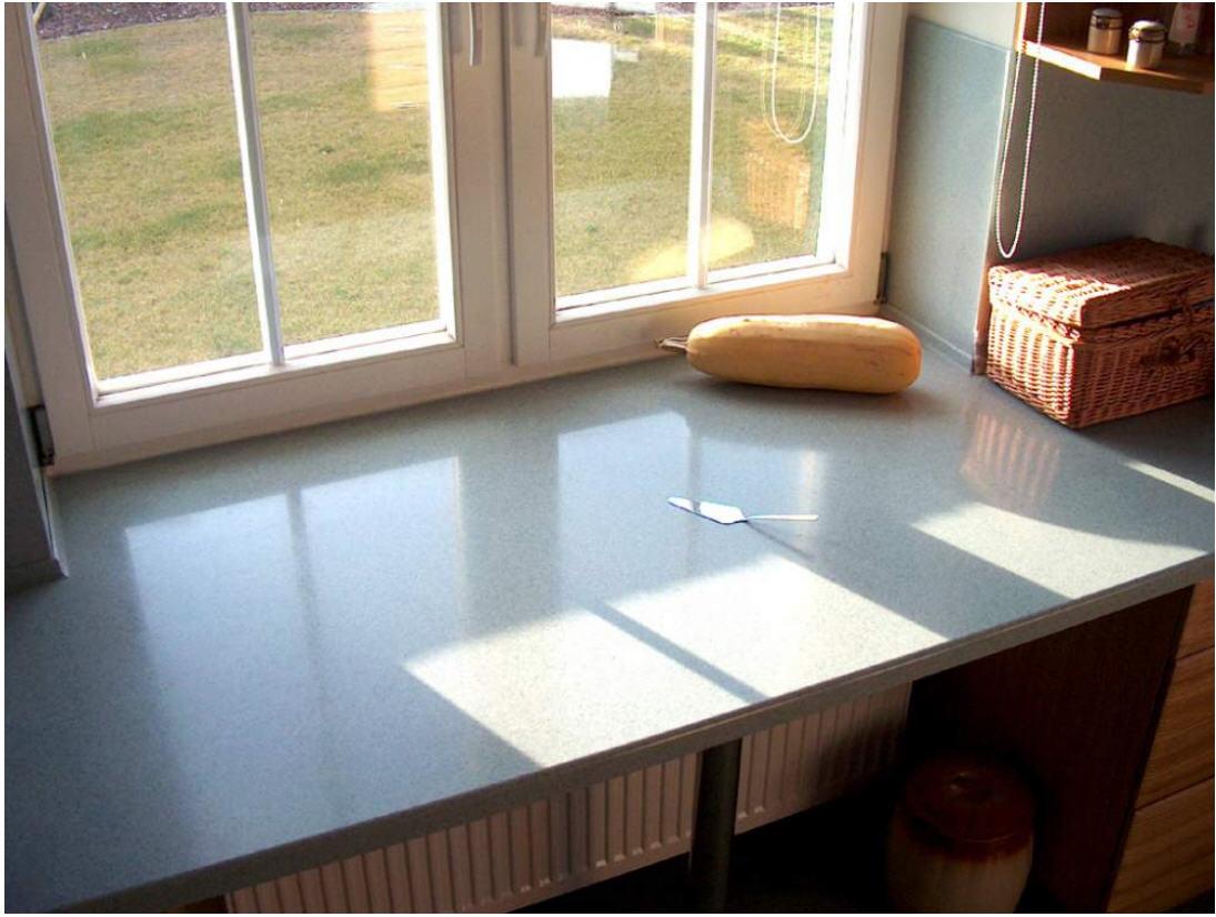 Подоконник столешница на кухне: особенности и монтаж. как сд.