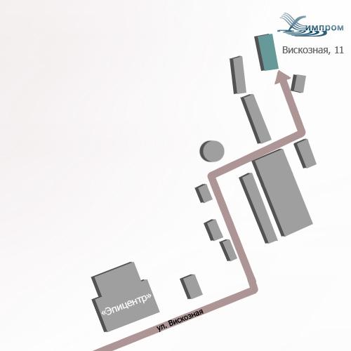 Схема проезда химпром