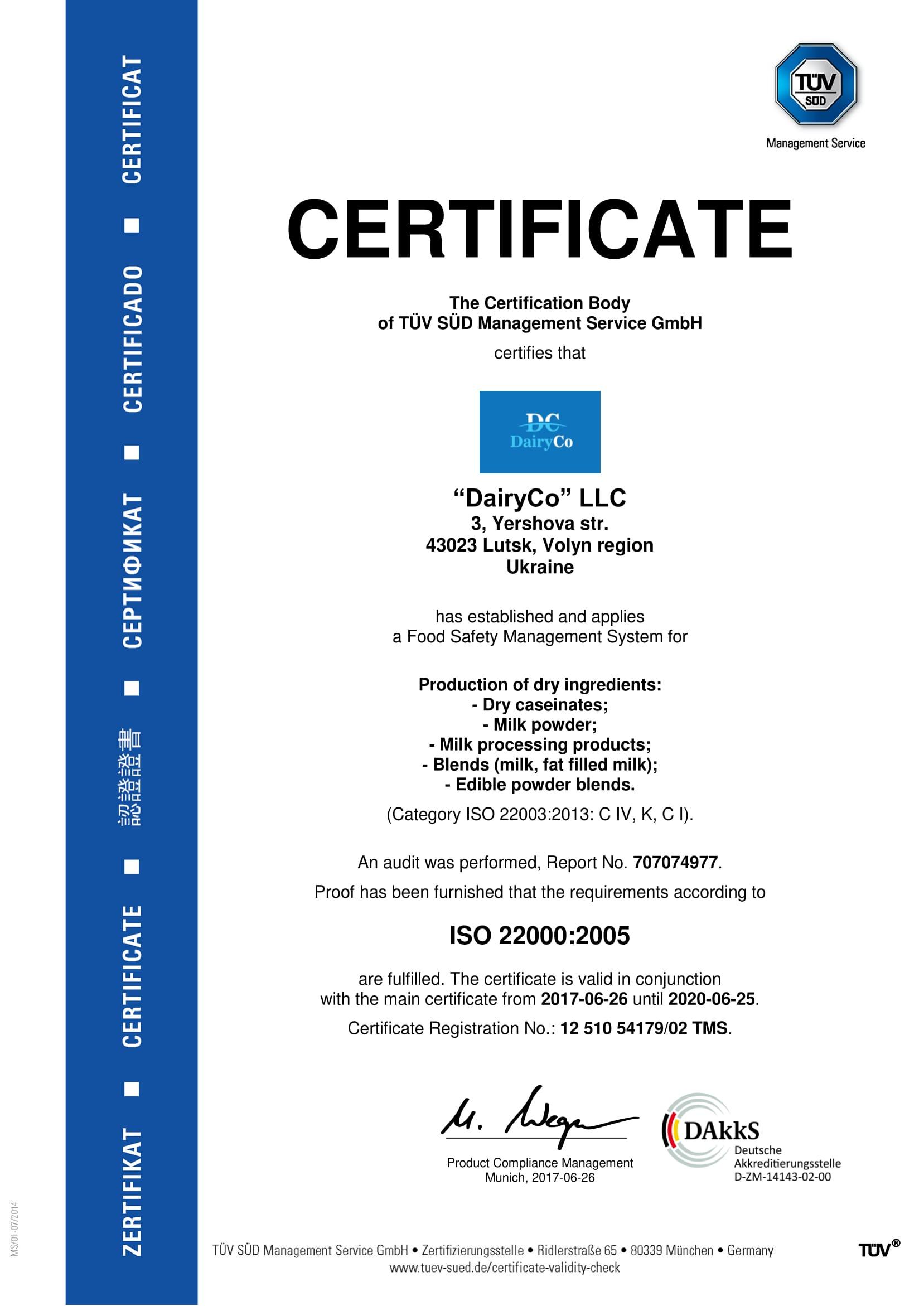 DairyCo LLC