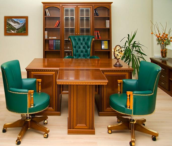 ремонт кабинетов руководителей фото