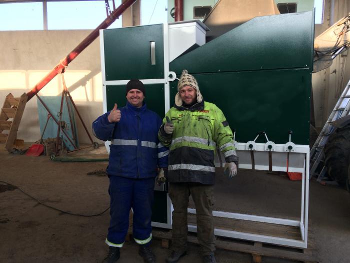 Planta de limpieza de grano de Jarkov, LLC