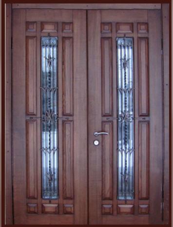 входные двери 2 х створчатые