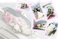 Аренда свадебного украшения на авто в Одессе и Южном, Южный