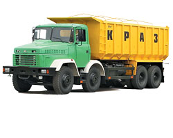 Order Automobile transportation of piece and tare loads