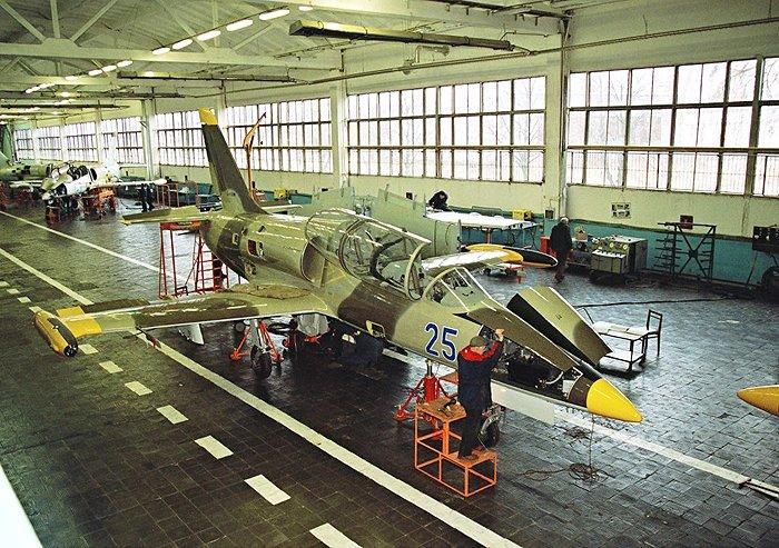 Заказать Ремонт самолетов Л-39