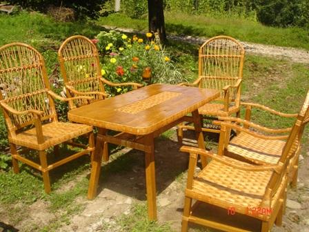 Заказать Изготовление, продажа, доставка плетеной мебели