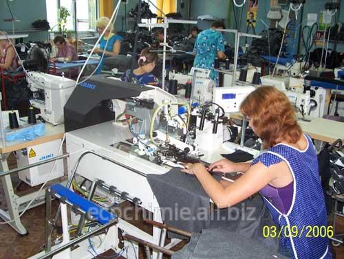 Заказать Пошив мужской одежды на швейном оборудовании Juki