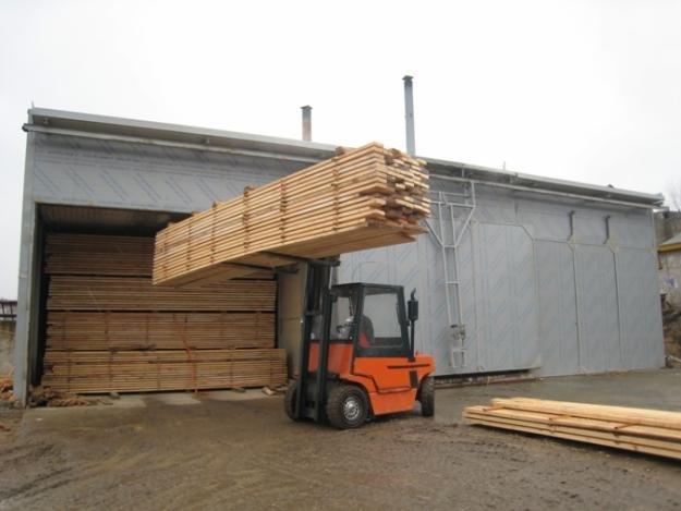 Заказать Сушка древесины, пиломатериалов и термическая обработка поддонов IPPC