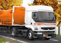 Заказать Перевозки грузов в автомобильных цистернах