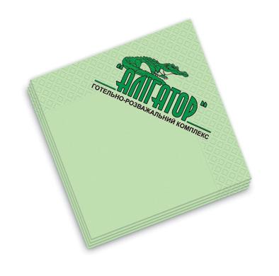 Заказать Нанесение логотипов на бумажных салфетках