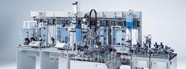 Обучение по управлению запорной арматурой: комплексной системой, состоящей из контроллеров Сименс, насосов, уровнемеров, датчиков.