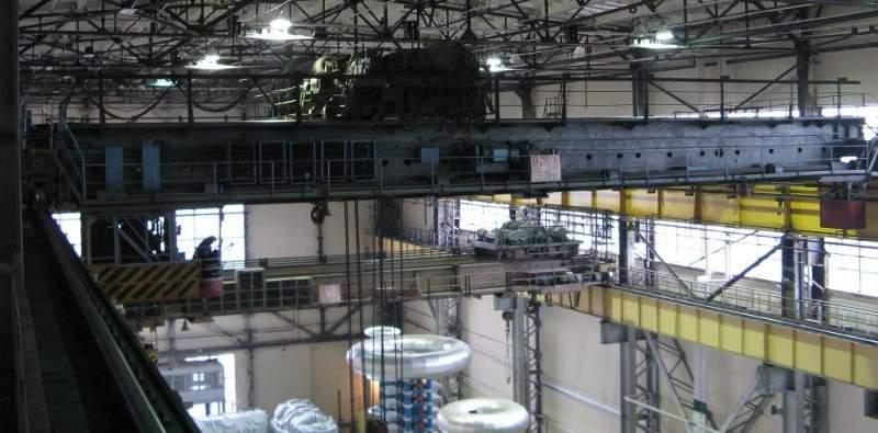 Модернизация грузоподъемных кранов