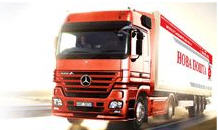 Order Services in transportation of goods by motor transpor