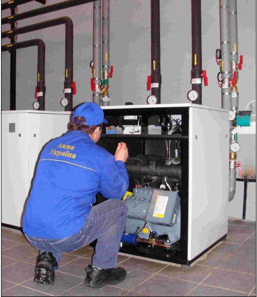 Проектирование и  установка тепловых насосов
